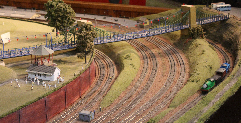 Trago Mills 00 Scale Model Railway Loco Yard