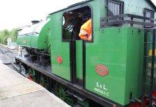 2013 Spa Valley Railway - Tunbridge Wells West - RSH Ugly Class no.62 Ugly