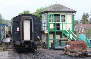 2013 Spa Valley Railway - Tunbridge Wells West - Signal Box