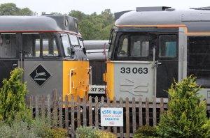 2013 Spa Valley Railway - Tunbridge Wells West - class 31 31206 & class 33 33063 R J Mitchell
