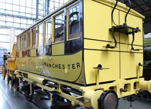 2013 National Railway Museum York - The Great Gathering - Replica Liverpool & Manchester Railway carriage