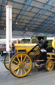 2013 National Railway Museum York - The Great Gathering - Stephenson's Rocket Replica (cut-away)Stephenson's Rocket Replica (cut-away)