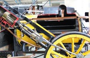 2013 National Railway Museum York - The Great Gathering - Stephenson's Rocket Replica (cut-away)