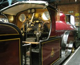 2013 - National Railway Museum Midland Spinner 4-2-2 673 cab