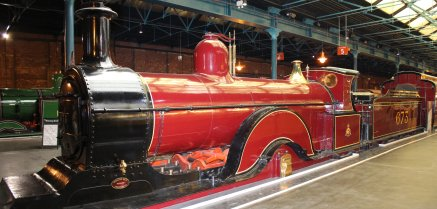 2013 - National Railway Museum Midland Spinner 4-2-2 673