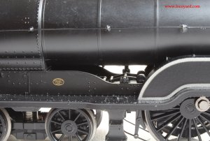 Bachmann class D11 62663 Prince Albert 31-146 review (internal motion detail)