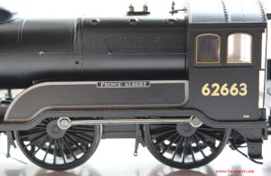 Bachmann class D11 62663 Prince Albert 31-146 review (name and splasher)