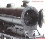 Bachmann class D11 62663 Prince Albert 31-146 review (opening smokebox door)