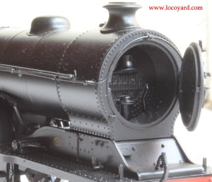 Bachmann class D11 62663 Prince Albert 31-146 review (opening smokebox door)
