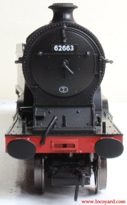 Bachmann class D11 62663 Prince Albert 31-146 review (smokebox face)