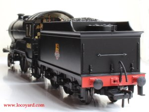 Bachmann class D11 62663 Prince Albert 31-146 review (tender rear view)
