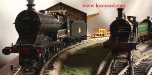 Locoyard - Bachmann class D11 62663 Prince Albert and C class 592