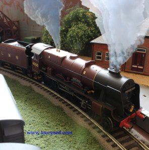 Locoyard - modified Hornby LMS 6100 Royal Scot