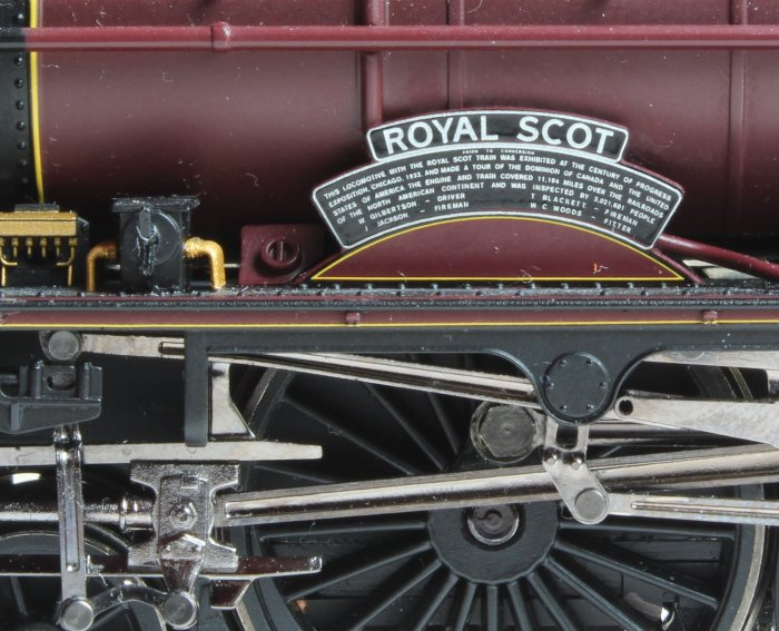 Locoyard - modified Hornby LMS 6100 Royal Scot (nameplate)