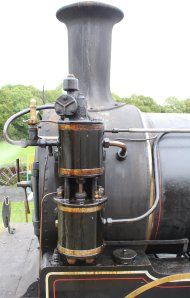 2013 - Isle of Wight Steam Railway - Havenstreet - Ex-LSWR 02 class - W24 Calbourne air pump