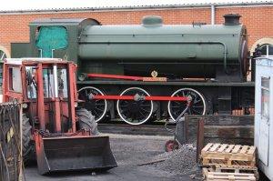 2013 - Isle of Wight Steam Railway - Havenstreet - Hunslet Austerity WD198 Royal Engineer