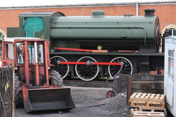 2013 - Isle of Wight Steam Railway - Havenstreet - Hunslet Austerity WD198 Royal Engineer