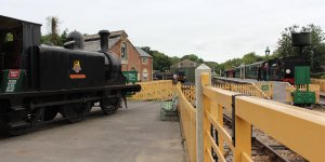 2013 - Isle of Wight Steam Railway - Havenstreet - Ex-LBSCR E1 class - 32110 Yarmouth & Ex-LSWR 02 class - W24 Calbourne
