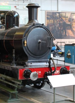 2013 National Railway Museum York - The Great Gathering - LYR Aspinall 2-4-2T 1008
