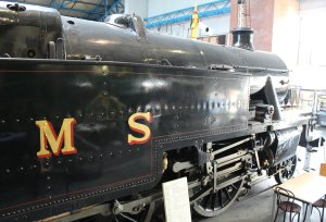 113a - 2013 National Railway Museum York - The Great Gathering - LMS Stanier 3-cylinder 4P 2-6-4T LMS No 2500