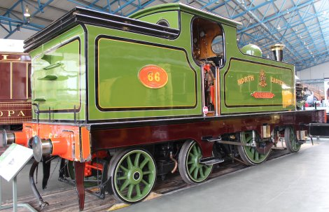 2013 National Railway Museum York - The Great Gathering - North Eastern Railway 2-2-4T 66 Aerolite