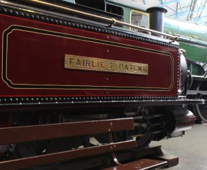 2013 National Railway Museum York - The Great Gathering - Ffestiniog Railway Double Fairlie Airlie's patent