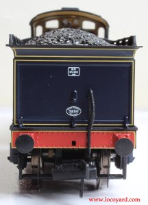Bachmann Fowler 4F 0-6-0 - Locoyard Review - SDJR 58 (Deeley Tender rear)