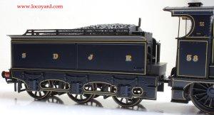 Bachmann Fowler 4F 0-6-0 - Locoyard Review - SDJR 58 (Deeley Tender)