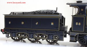 Bachmann Fowler 4F 0-6-0 - Locoyard Review - SDJR 58 (Deeley Tender)