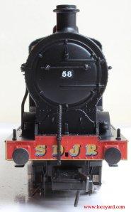 Bachmann Fowler 4F 0-6-0 - Locoyard Review - SDJR 58 (smokebox)