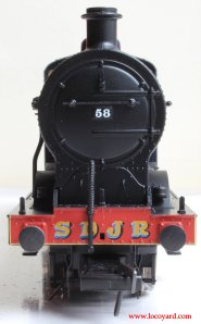 Bachmann Fowler 4F 0-6-0 - Locoyard Review - SDJR 58 (smokebox)
