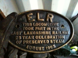 The plaque found on Canadian Pacific