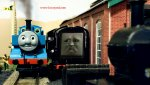 Locoyard Halloween Special 2013 - Day of The Diesel - 010 - Thomas  with Devious Diesel & SDJR Jinty 23