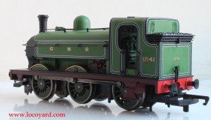 Locoyard Review - Hornby Railroad GNR J13 (LNER J52) class - 1241 (cab)