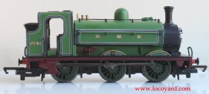 Locoyard Review - Hornby Railroad GNR J13 (LNER J52) class - 1241 (profile)