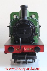 Locoyard Review - Hornby Railroad GNR J13 (LNER J52) class - 1241 (smokebox)