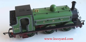 Locoyard Review - Hornby Railroad GNR J13 (LNER J52) class - 1241 (top view)