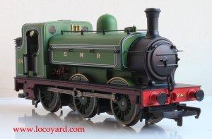 Locoyard Review - Hornby Railroad GNR J13 (LNER J52) class - 1241