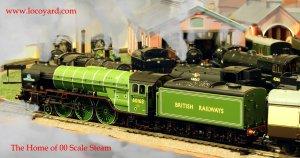 Locoyard - The Home of 00 scale Steam - Bachmann A1 class 60163 Tornado