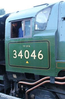 2013 Watercress Line Autumn Steam Spectacular - Ropley - Rebuilt West Country class - 34046 Braunton