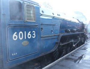 2013 Watercress Line Autumn Steam Spectacular - Ropley - A1 class 60163 Tornado