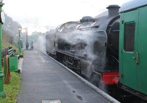 2013 Watercress Line Autumn Steam Spectacular - Ropley - Ex-SR U class 31806 & 850 Lord Nelson