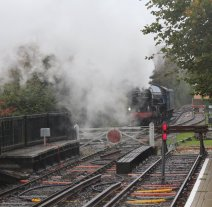 2013 Watercress Line Autumn Steam Spectacular - Alton - A1 class 60163 Tornado