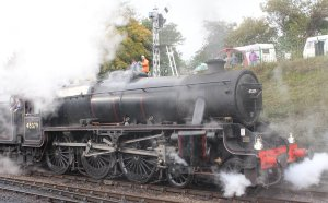 2013 Watercress Line Autumn Steam Spectacular - Ropley - Ex-LMS Stanier Black 5 45379