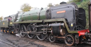 2013 Watercress Line Autumn Steam Spectacular - Ropley - BR Standard 7MT class 70000 Britannia