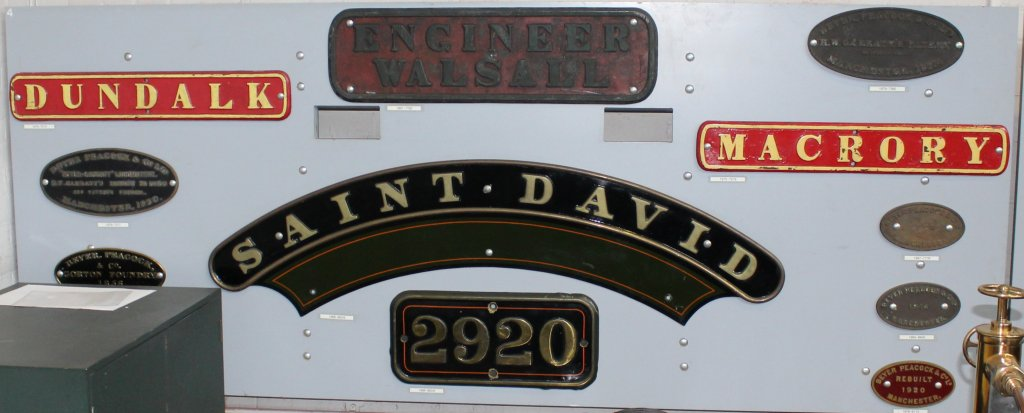 2013 National Railway Museum York - The Great Gathering - Saint David nameplates