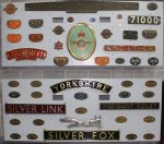 2013 National Railway Museum York - The Great Gathering - nameplates