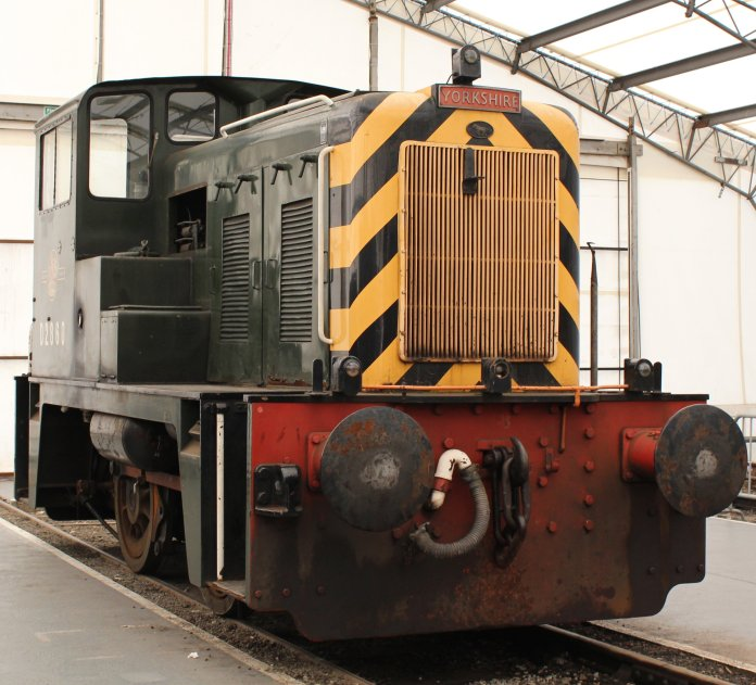 2013 National Railway Museum York - The Great Gathering - Class 02 D2860 170hp 0-4-0 diesel-hydraulic, built by Yorkshire Engine Co