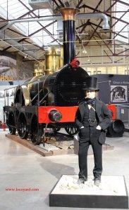 Isambard Kingdom Brunel - STEAM Swindon - North Star broad gauge replica