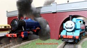 Locoyard - Bachmann 8F Austerity 2-8-0 - Longmoor Military Railway 400 Sir Guy Williams & Movember 1 Thomas the Tank Engine
